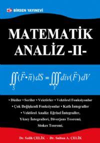Matematik Analiz 2.cilt,394 sayfa,Birsen yayınevi